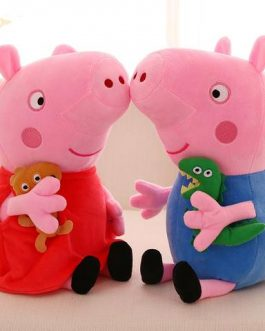 Famille Peluche Peppa Pig