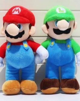 Mario Et Luigi En Peluche