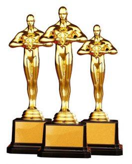 Statuette Oscars Du Cinéma