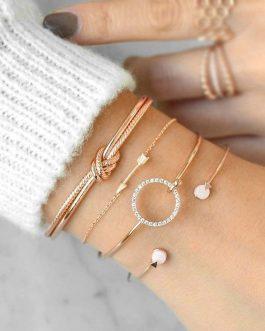 Lot de 4 Bracelets Femme Bohème