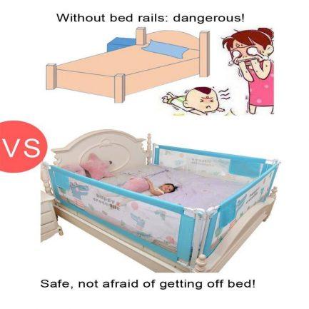 Barrière Amovible Pour Lit Bébé