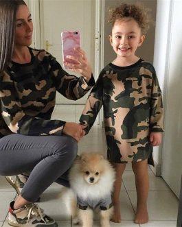 Jolie Robe Camouflage