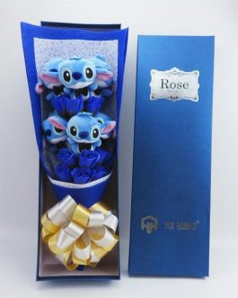 Joli Bouquet Peluches Stitch