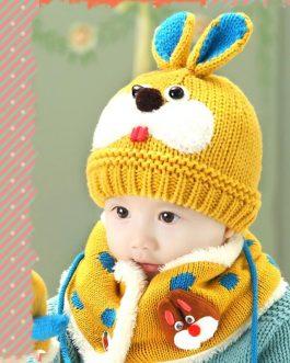 Bonnet Et Écharpe Pour Bébé