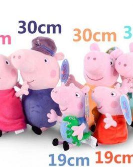 Famille Peluche Peppa Pig