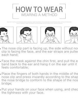 Masque Anti-Virus Respiratoire (10pcs)