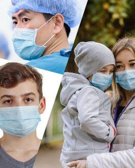 Masque Anti-virus Jetable (50Pcs)