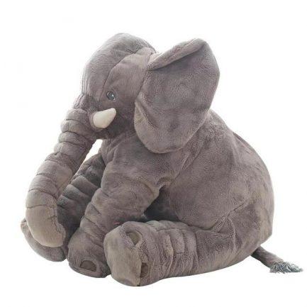 Peluche d'éléphant gris