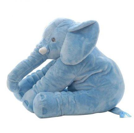 Peluche d'éléphant bleu