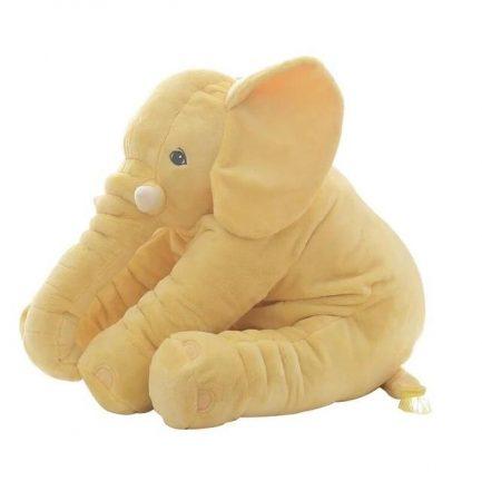 Peluche d'éléphant Jaune