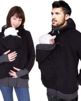 Veste Kangourou Pour Papa Et Bébé