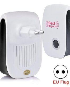 Prise Ultrasonique Anti insectes (4pcs)