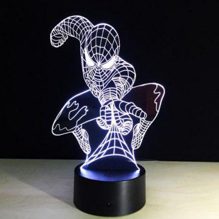 Veilleuse 3D Spiderman