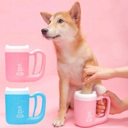 Nettoyeur Rotatif De Pattes pour chien