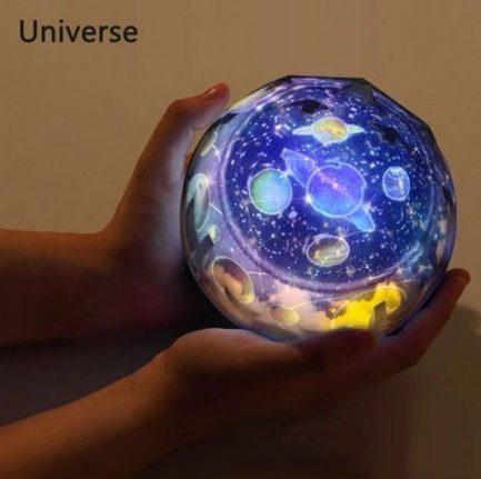 Veilleuse Projecteur Terre ET Univers