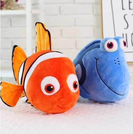 Peluche Dory Et Nemo