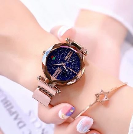 Montre Bracelet Magnétique Pour Femme
