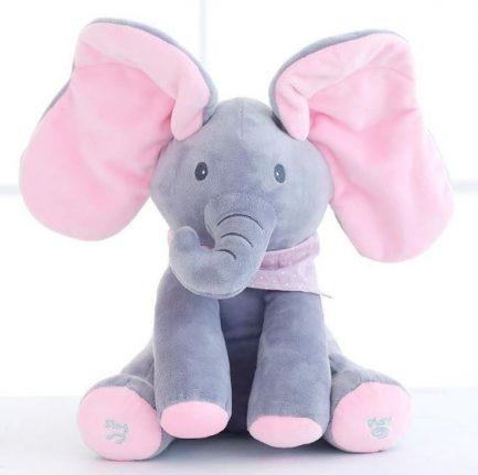 Magnifique Éléphant Interactif