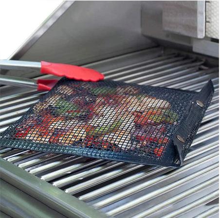 Sac En Mailles Réutilisable Pour Barbecue