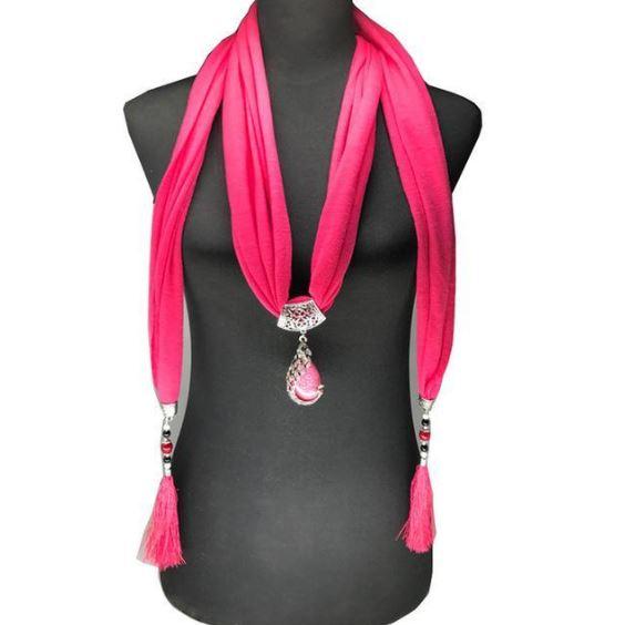 Écharpe-collier Avec Perles