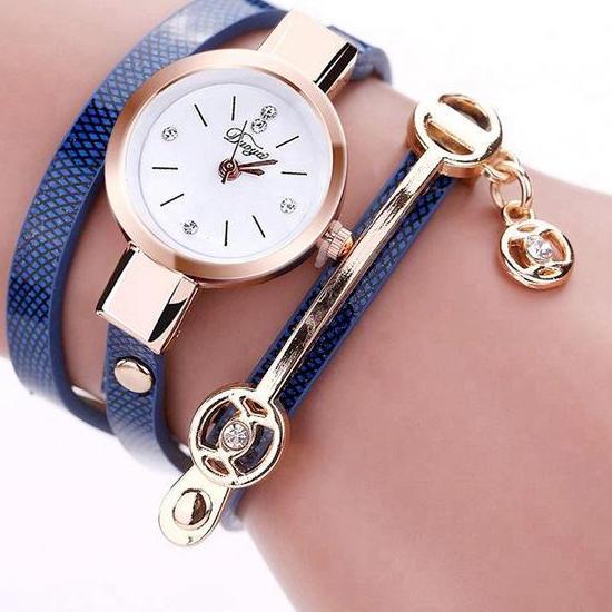 Jolie Montre-Bracelet Pour Filles