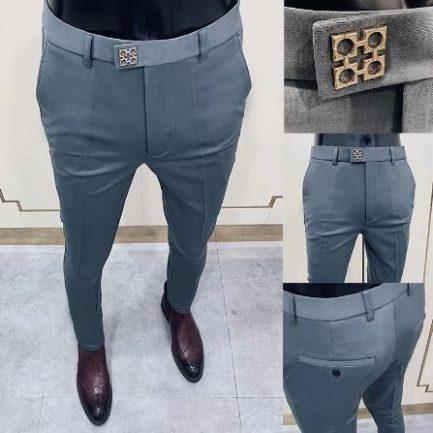 Pantalon De Costume Pour Homme