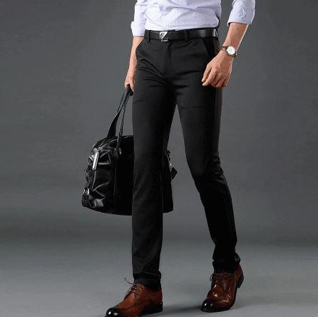 Pantalon Infroissable Pour Homme