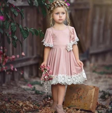 Robe Elisabeth Pour Petites Filles
