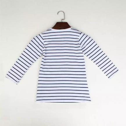 Robe Marinière Pour Petites Filles