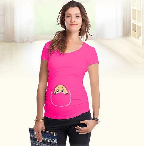 T-shirt De Grossesse Drôle