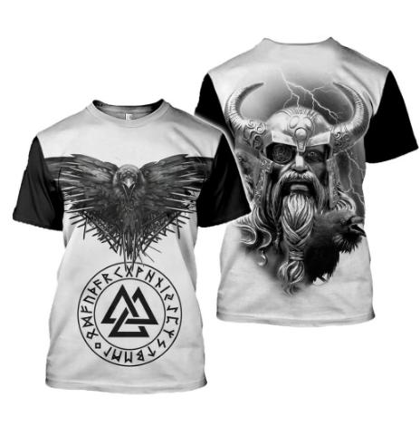 T-shirt Homme Imprimé Viking
