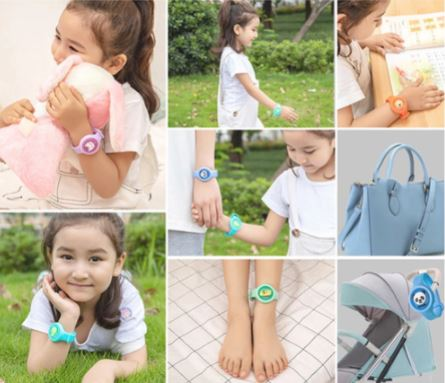 Bracelet Anti-moustiques Pour Enfant