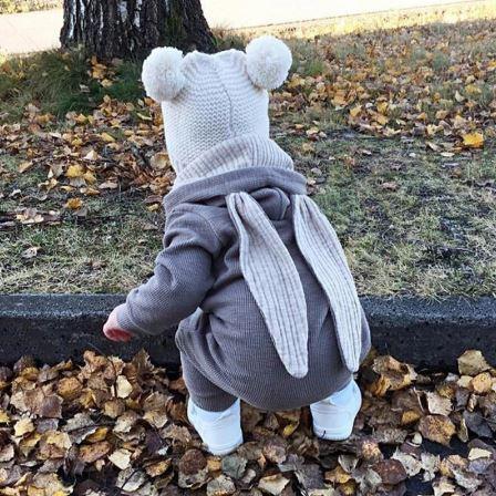 Combi Oreilles Lapin Pour Bébé