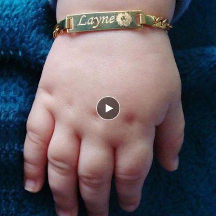 Bracelet Bébé Personnalisé