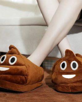 Chaussons Emoji Poo