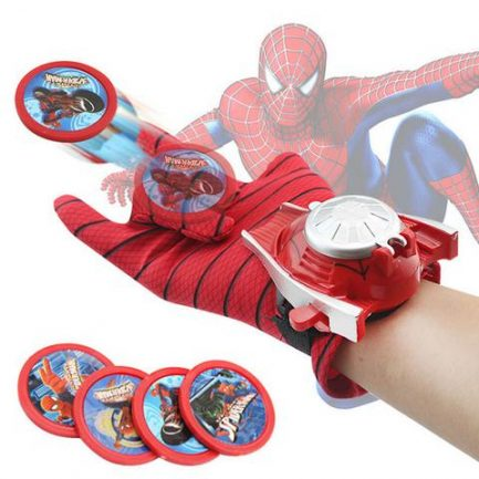 Gant Lance-Disque Spiderman
