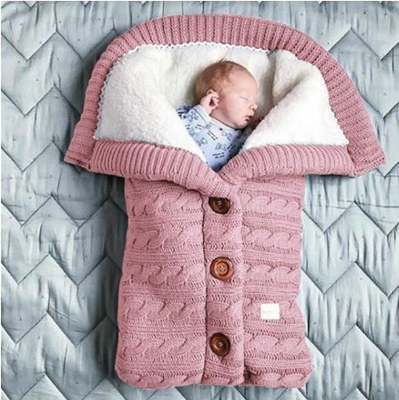 Gigoteuse Tricoté Pour Bébé