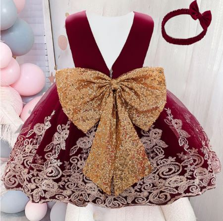 Robes De Fête Pour Petite Fille